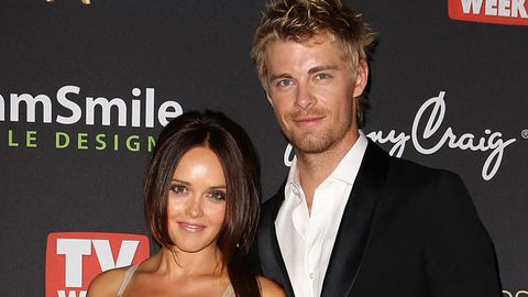 <i>Home and Away</i> stars Luke Mitchell and Rebecca Breeds engaged