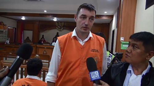 Alistair Larmour has faced court on abduction and assault charges. Picture: 9NEWS