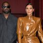 Kim Kardashian attends Kanye West's new album release event