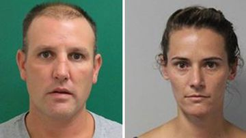 Shane Cochrane and Lauren Hindes were arrested after five days on the run.