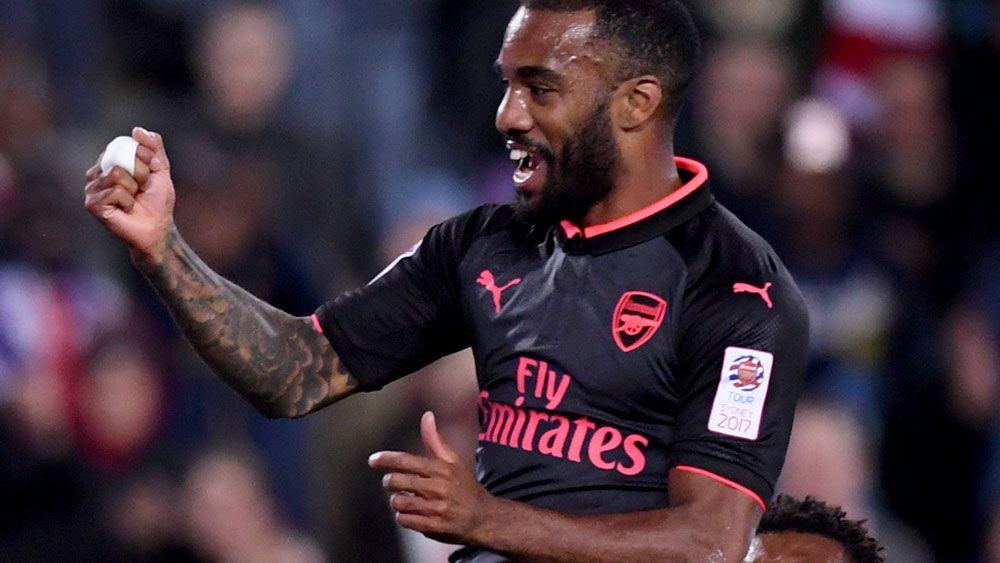 Lacazette scores on debut as Arsenal beat Sydney FC