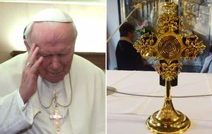 Relic holding Pope John Paul II's blood stolen from Italian cathedral