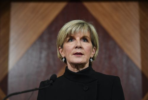Julie Bishop confirmed that eight Australians were caught up in the terror attack. (AAP)
