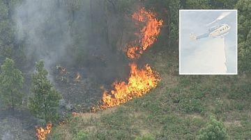 Firefighters gain control of Benloch bushfire