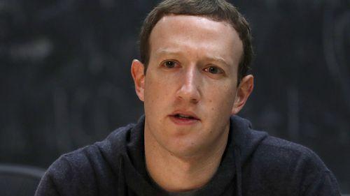 Facebook CEO Mark Zuckerberg. (AAP)