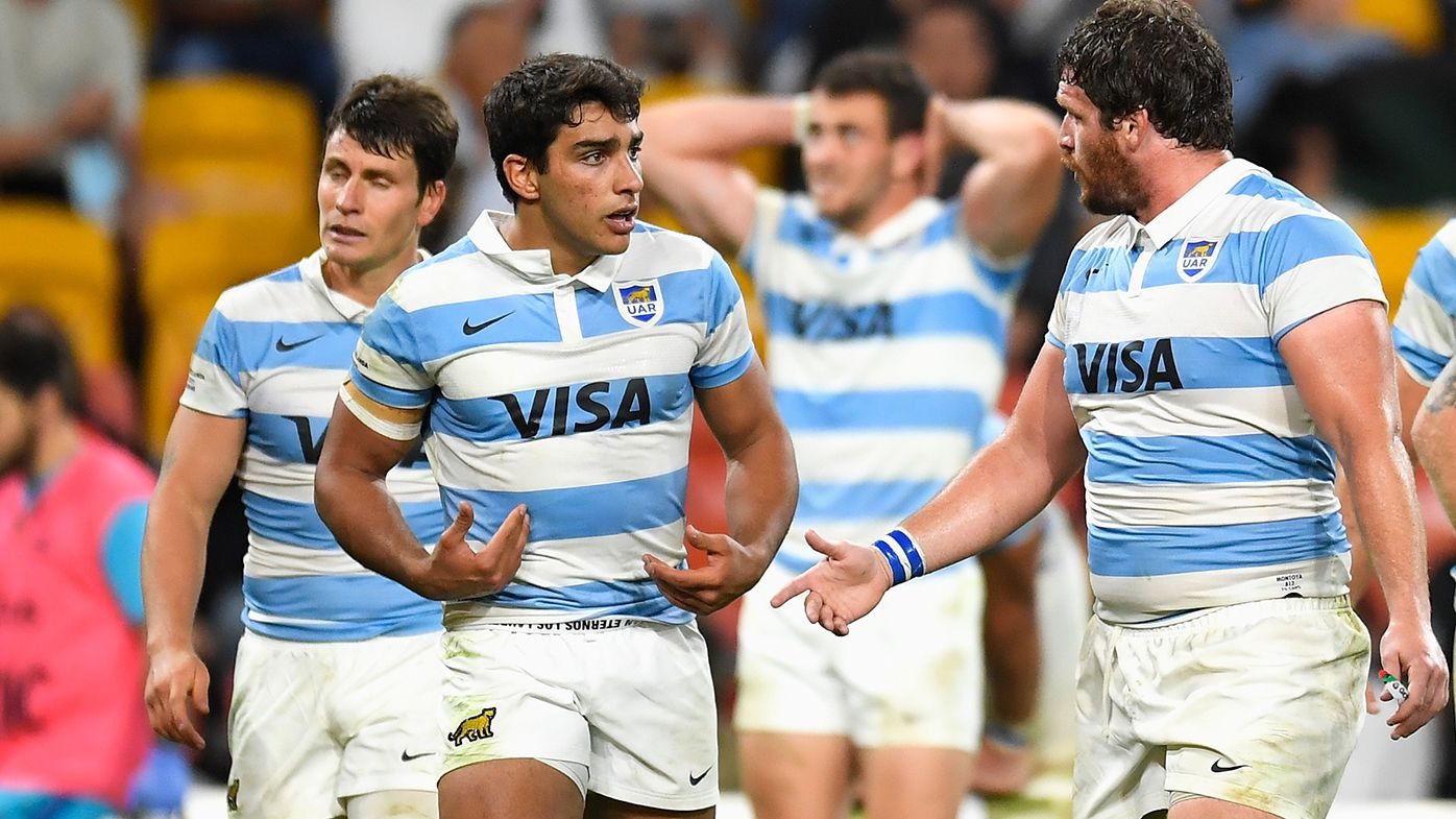 Members of the Argentinian rugby team have been locked out of Queensland.