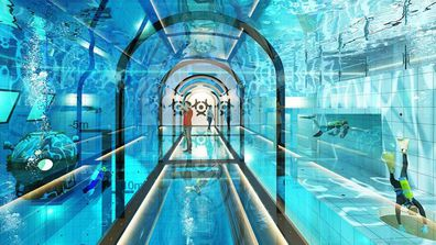 Deepspot pool in Poland will be the world's deepest pool