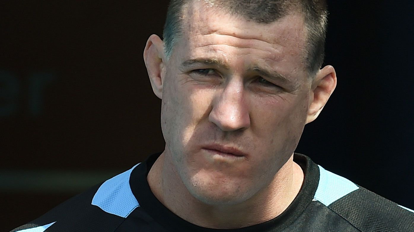 Paul Gallen and the Cronulla Sharks start their title defence against the Brisbane Broncos. (AAP)