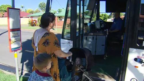 Ms Cowan had a run in with a new bus driver who told her she was not allowed to travel on the bus. (9NEWS)