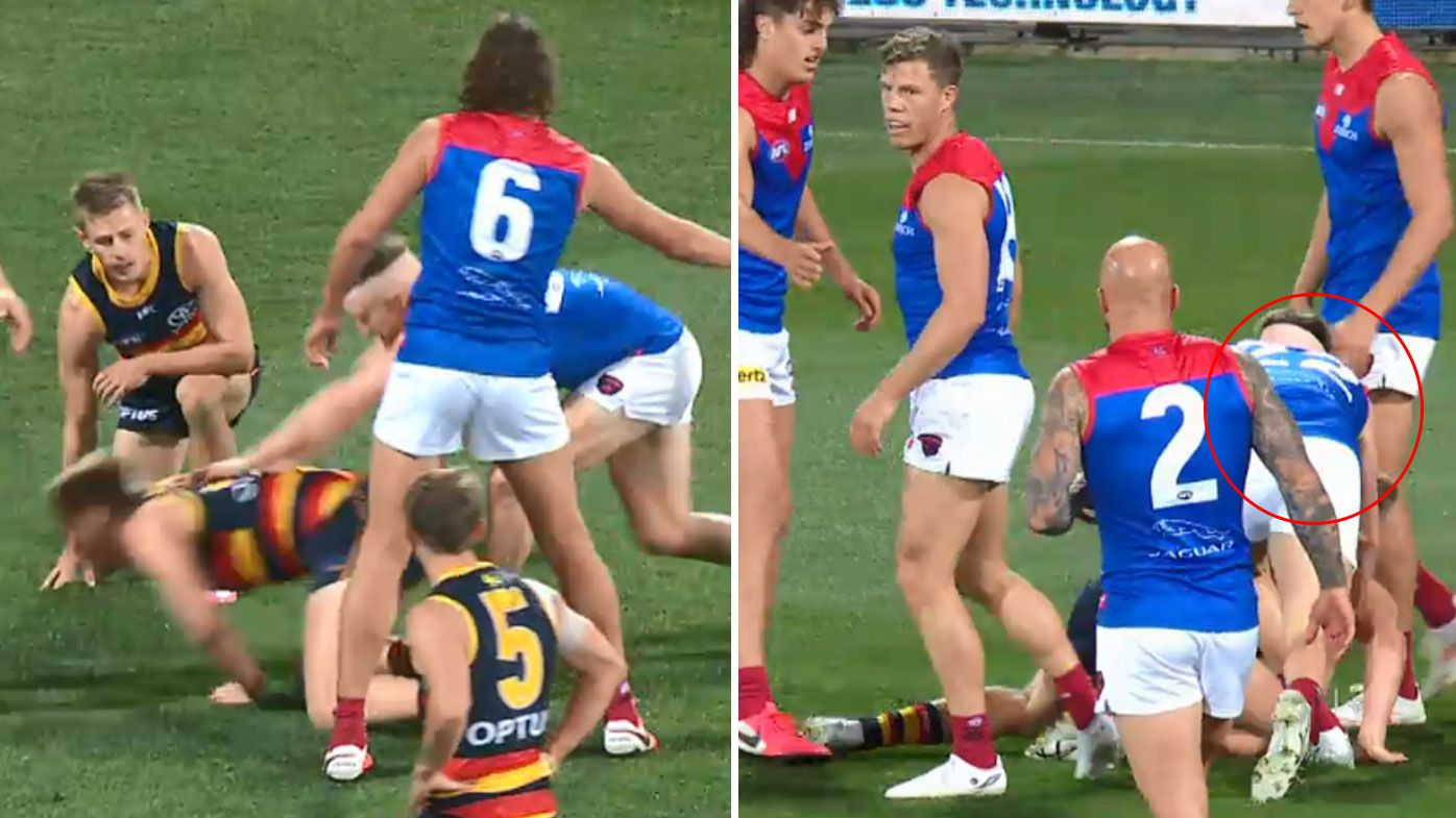 Demon Aaron Vandenberg slammed for 'shocking look' in post-siren taunt