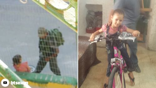 Israeli man gifts Palestinian girl with new bike after border guards broke previous one