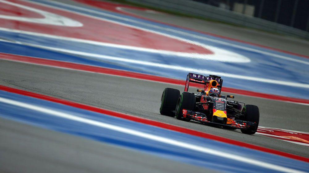 Daniel Ricciardo competes at the US F1 Grand Prix. (Getty)