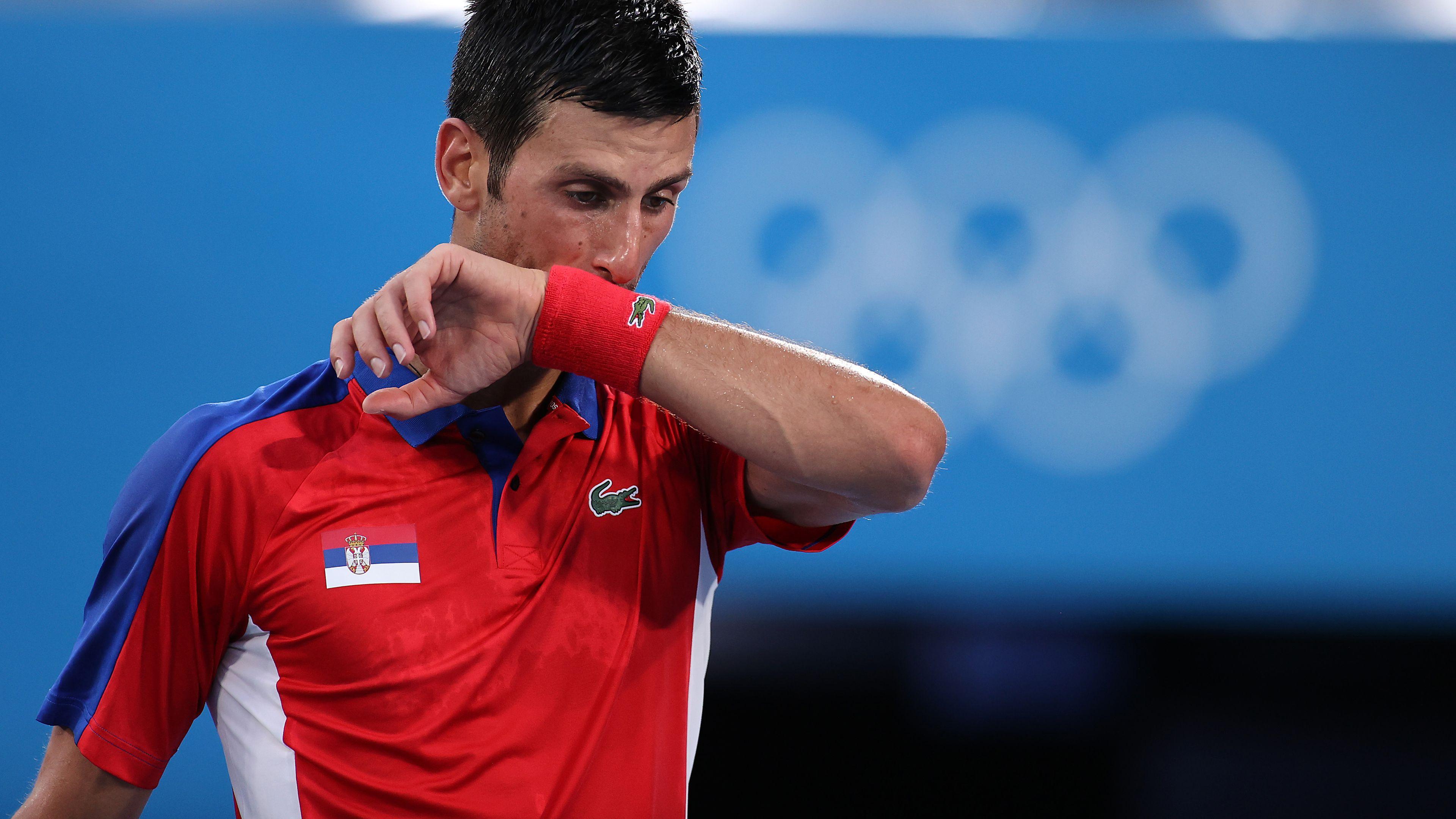 Alexander Zverev ends Novak Djokovic's hopes of a Golden Slam in 2021
