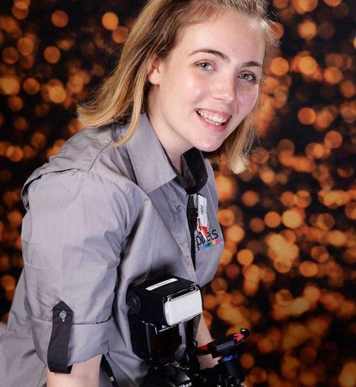 Ms Chamberlain was hired as a trainee photograher. (Photo: Jade Chamberlain)