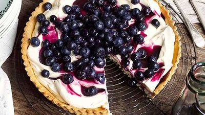 "Recipe:&nbsp;<a href=""http://kitchen.nine.com.au/2016/05/16/19/30/blueberry-tart"" target=""_top"">Blueberry tart</a>"