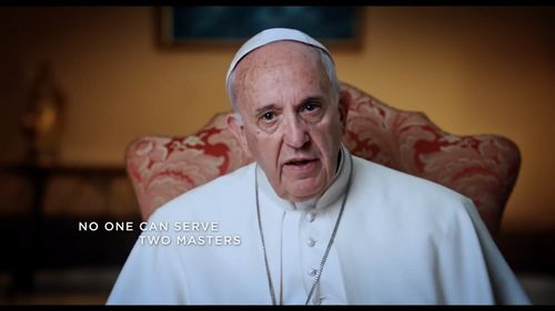 'Pope Francis: A Man of his Word' features face-to-face conversations with the Pope. (Pope Francis: A Man of his Word)