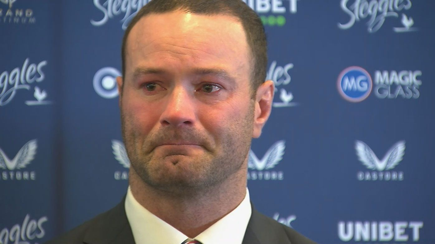 An emotional Boyd Cordner confirms his retirement from rugby league.