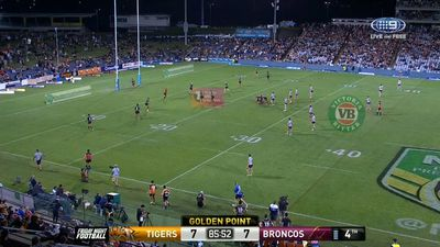 NRL news: Referees boss admits Ashley Klein got it wrong in Tigers golden point loss to Broncos