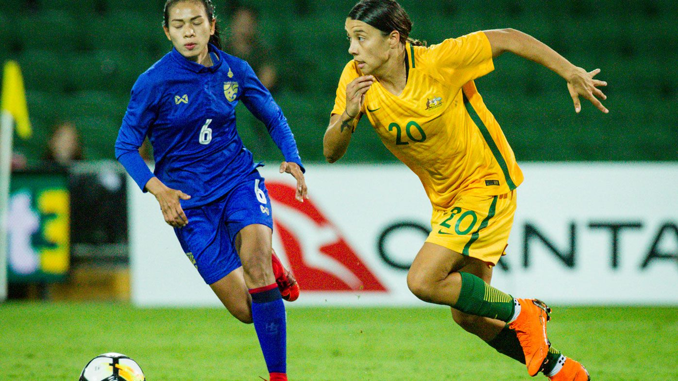 Football: Matildas' Sam Kerr sets NWSL records with scintillating hat-trick