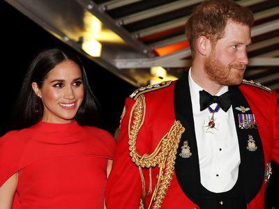 Prince Harry & Meghan Markle