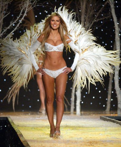 <p>3. Heidi Klum</p> <p> German supermodel Heidi Klum debuted on the Victoria&rsquo;s Secret catwalk in 1997 and had an impressive 13 year run until 2010. Heidi's success with her own underwear line and television hosting gigs became a business model for former angels.</p>