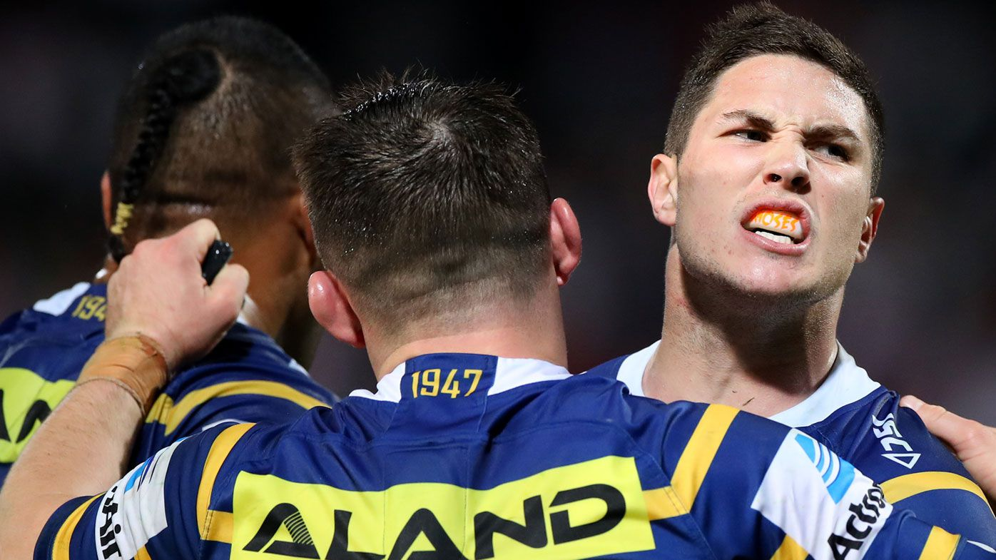Mitchell Moses' blunt conversation with Eels legend Peter Sterling