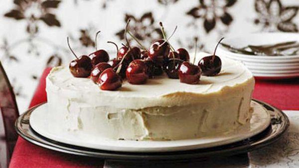 Italian cherry cake