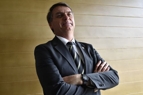 Bolsonaro has a strong following, but is also disliked for his attack on leftists, blacks and gays.