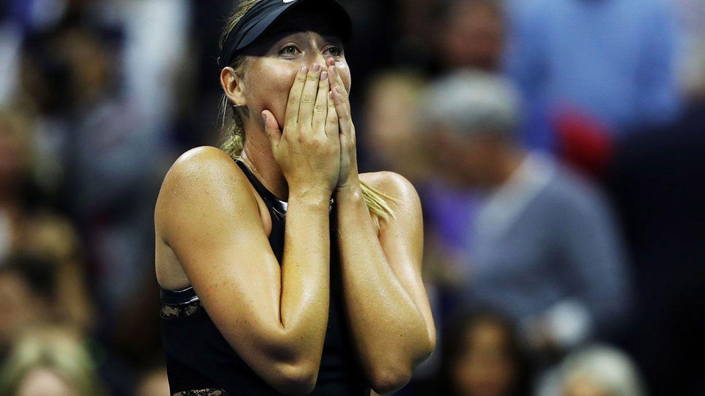 US Open: Maria Sharapova edges world No.2 Simona Halep at Flushing Meadows