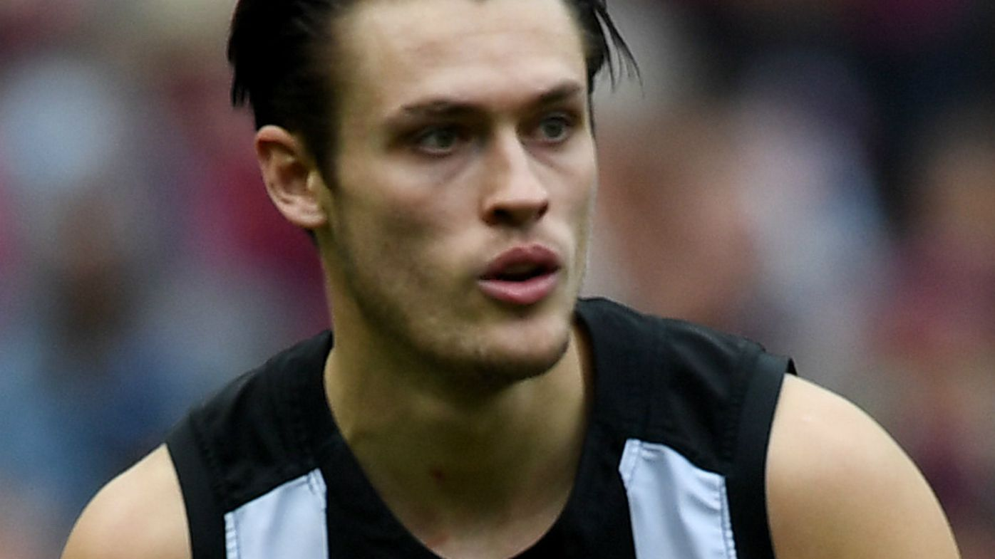Darcy Moore of the Magpies