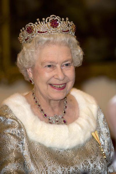 The Burmese Ruby and Diamond tiara