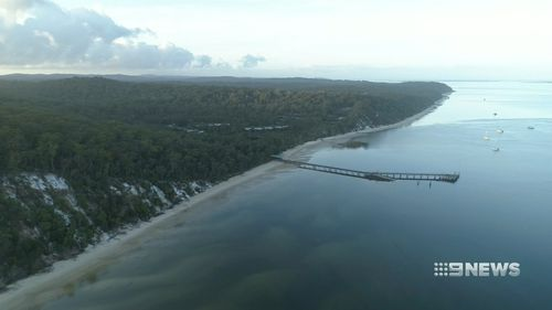 The attack occurred on Queensland's Fraser Island.