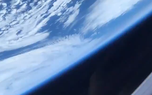 First-time astronaut shares video of Earth from International Space Station