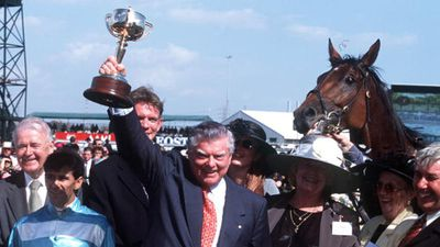 Cummings earned himself the title of 'Cups King', winning the Melbourne Cup 12 times throughout his career. (Getty)