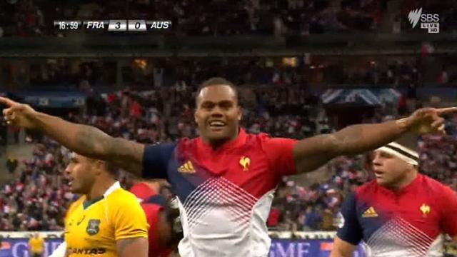 Teamwork leads to France try