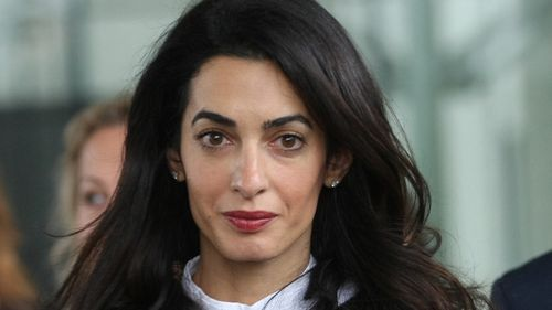 Amal Clooney wants to meet Egypt's Sisi over jailed journalist