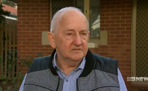 John Griffith said the little boy didn't make a noise when he drove off with him in the back seat. Picture: 9NEWS