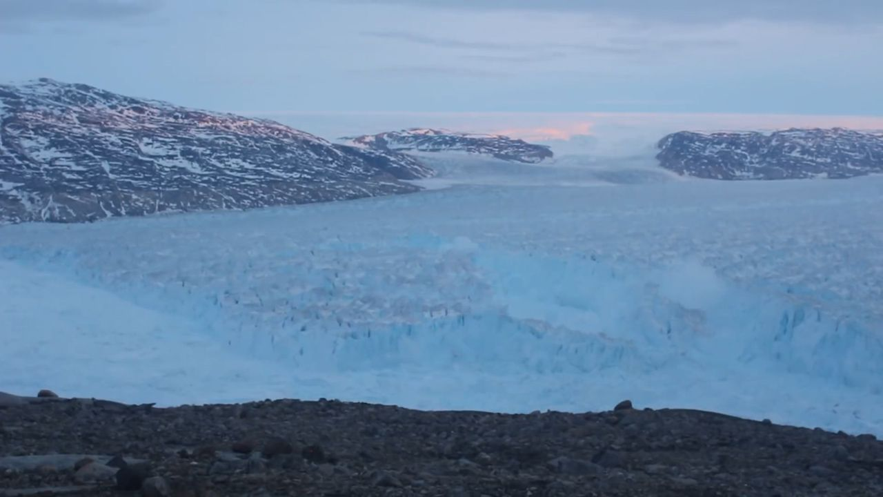 When an iceberg came knocking at the door of a Greenland village