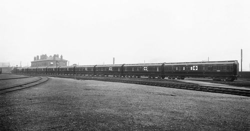 Marion Leane Smith risked her life everyday travelling  on an Ambulance train similar to this one, treating injured soldiers on the frontlines.