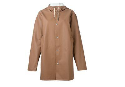 "<a href=""http://www.farfetch.com/au/shopping/women/Stutterheim-hooded-raincoat-item-11136212.aspx"" target=""_blank"">Raincoat, $301, Stutterheim at Farfetch.com</a>"