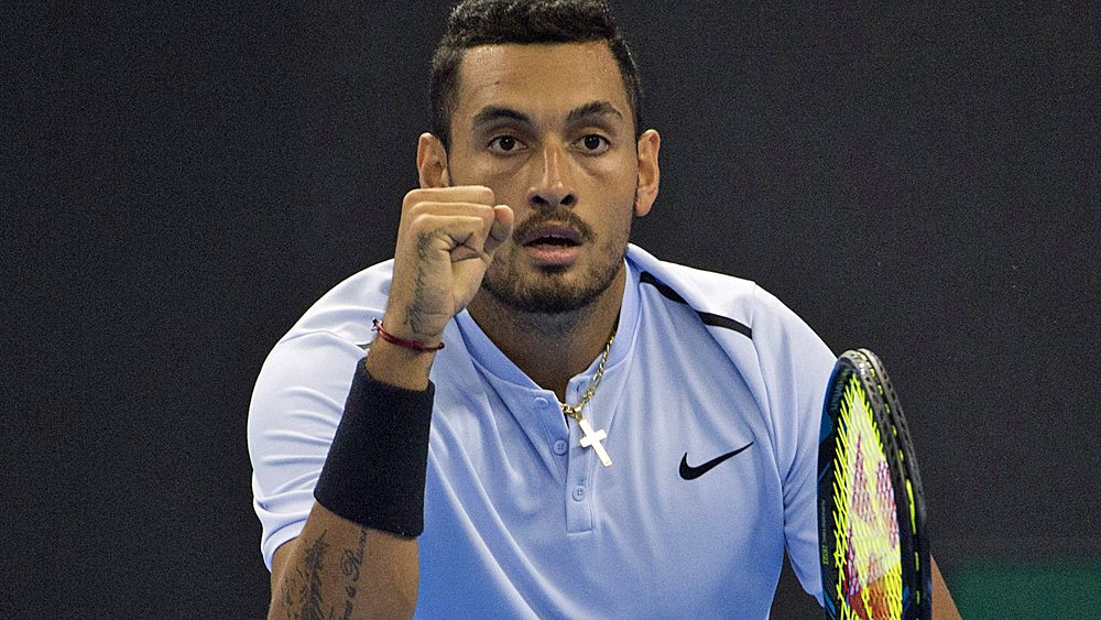 Tennis: Nick Kyrgios to face Rafael Nadal in China Open final after defeating Alexander Zverev
