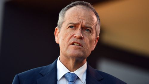 "Bill Shorten was accused by members of the Coalition of being ""grubby"". Picture: AAP"