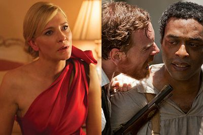 This year's Screen Actors Guild nominations see <i>12 Years a Slave</i> leading the race, followed by <i>August: Osage County</i>, <i>The Butler</i>, <i>American Hustle</i> and <i>Dallas Buyer's Club</i>.<br/><br/>Aussie star Cate Blanchett also gets a nod for her portrayal of an alcoholic socialite in <i>Blue Jasmine</i>, with Leonardo DiCaprio and Margot Robbie both snubbed for the highly anticipated <i>Wolf of Wall Street</i>.<br/><br/>Flick through the slides to see who else is nominated for next January's SAG Awards, then stay tuned to watch all the trailers and interviews with the stars...