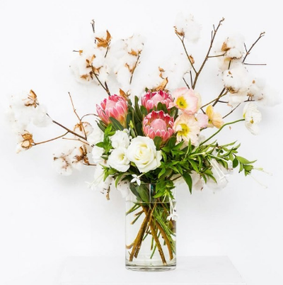 "Choose a flower subscription service, such as <a href=""http://myflowerman.com.au"">MyFlowerMan</a> to deliver a fresh bunch of flowers weekly or monthly for a period of your choosing."