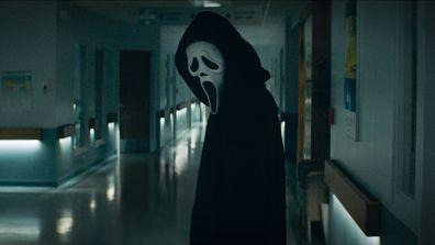 Ghostface in 2022's Scream