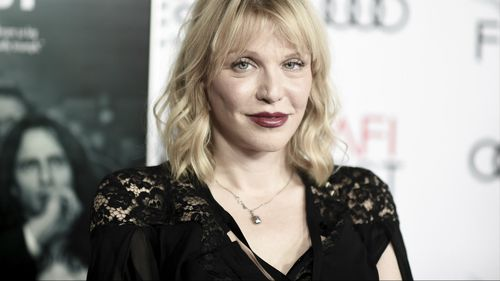 Courtney Love has been accused of attempted murder in an attempt to gain possession a guitar belonging to her former partner, Kurt Cobain. (AAP)