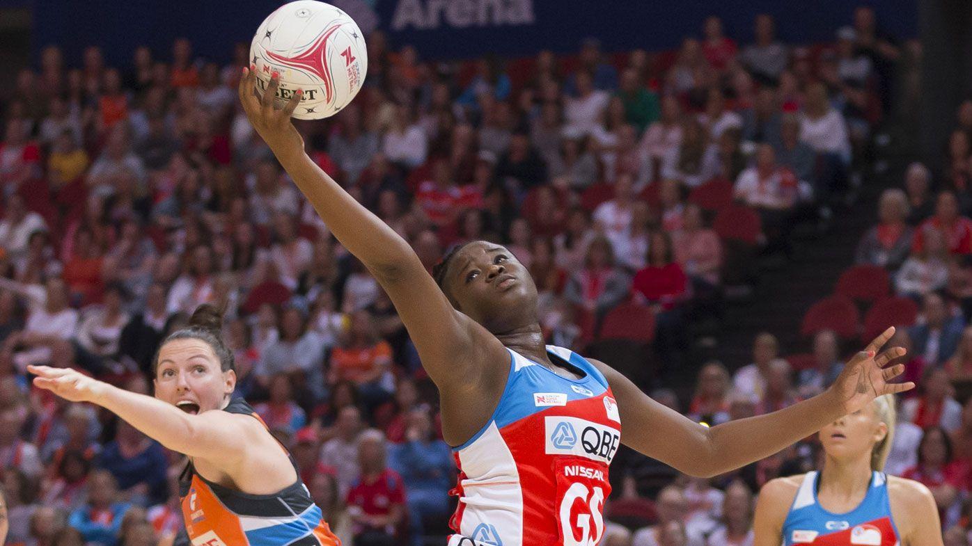 Sydney Swifts shock Giants in Super Netball derby