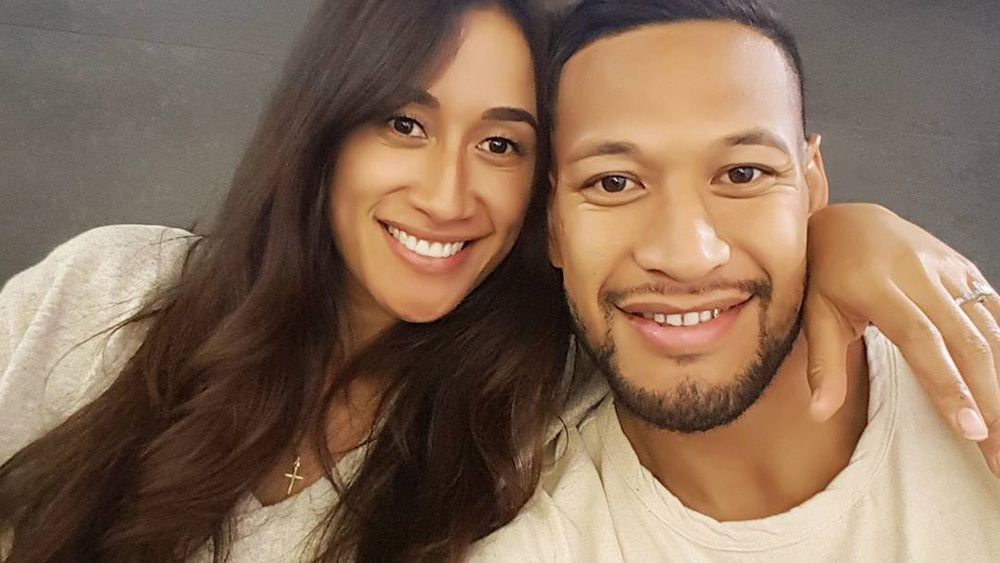 Wallabies star Israel Folau knocked back $500k to spend time with fiancée Maria Tutaia