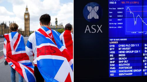 Brexit: Australian shares volatile after Britain's vote to leave the EU