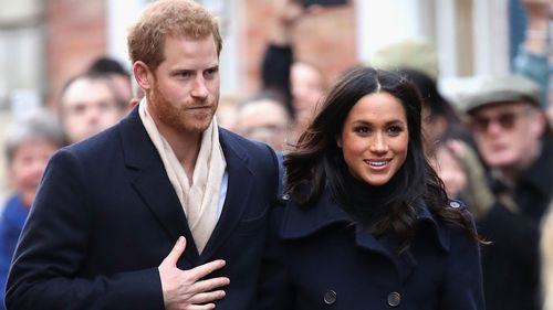 Meghan Markle's father was supposed to walk her down the aisle. (AAP)